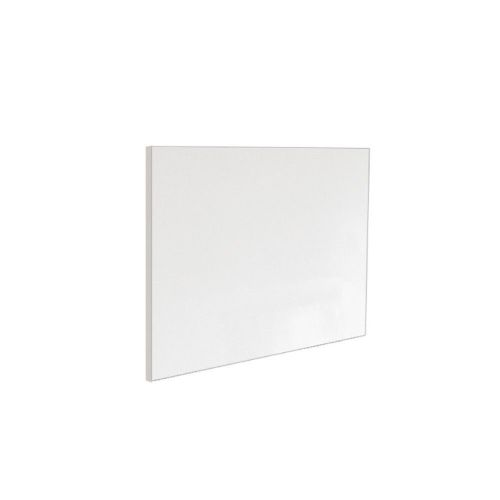 Ice 800mm White Gloss 1 Piece Bath End Panel
